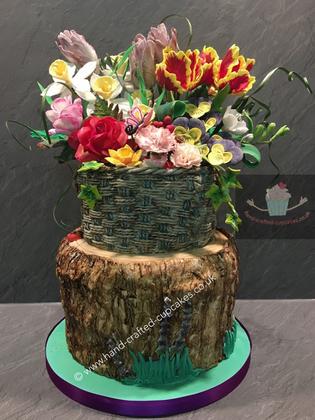 FDC-15-Flower-Basket-Cake