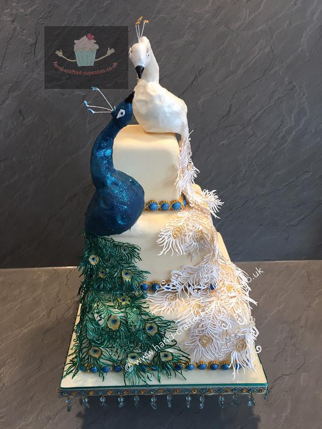WC-220-Peacock-Wedding-Cake