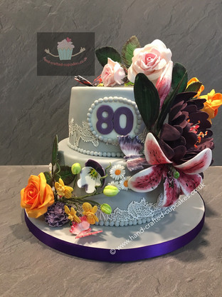 WBC-150-80th-Flower-Cake