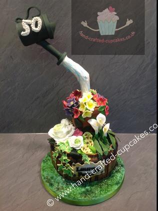 SHC-170-Watering-Can-Garden-Cake