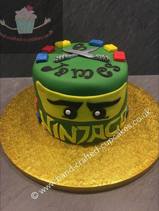 BYC-220-Ninjago-Cake