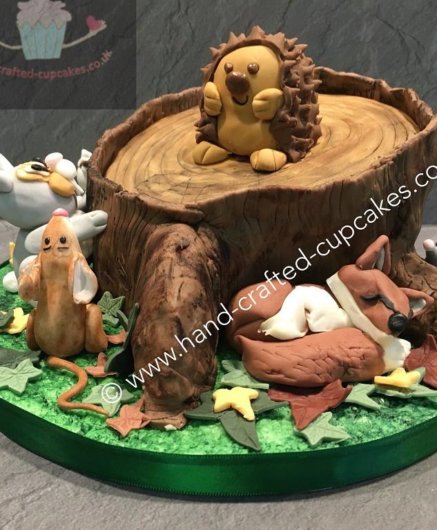 TAC-160-Wooland-Creatures-Cake