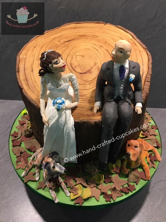 WC-270-Tree-Stump-Wedding-Cake