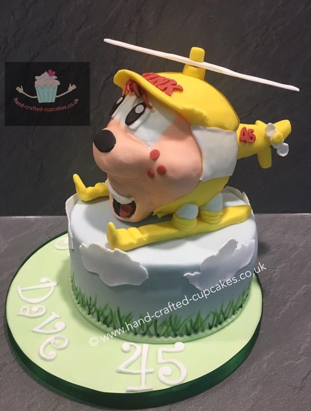 SHC-320-Helicopter-Cake