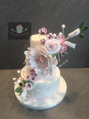 FDC-250-White-Flower-Cake