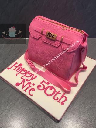 FC-220-Pink-Bag-Fashion-Cake