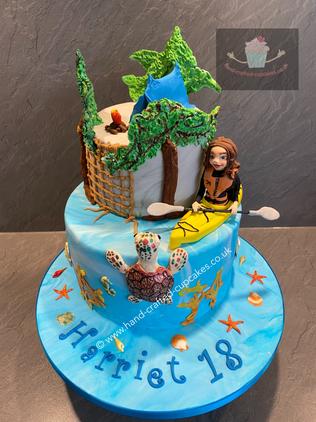 SHC-110-Kayaking-Turtle-Cake