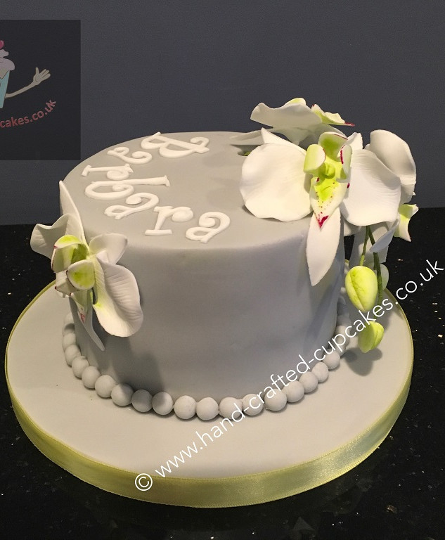 FDC-120-Orchids-Flower-Cake