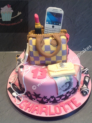 TYA-160-Handbag-Lipstick-Phone-Cake