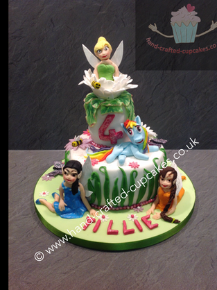 BYC-160-Tinkerbelle-Cake