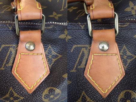 Wie bekomme ich das Messing an meiner Louis Vuitton Tasche wieder glänzend?