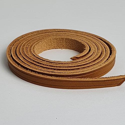 Zugband aus Rindsleder in braun 10329