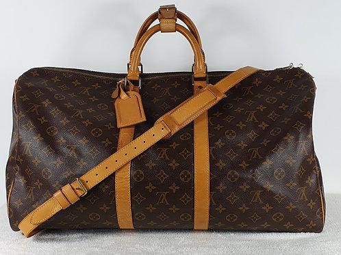 Louis Vuitton Keepall 55 mit Schulterriemen 10450