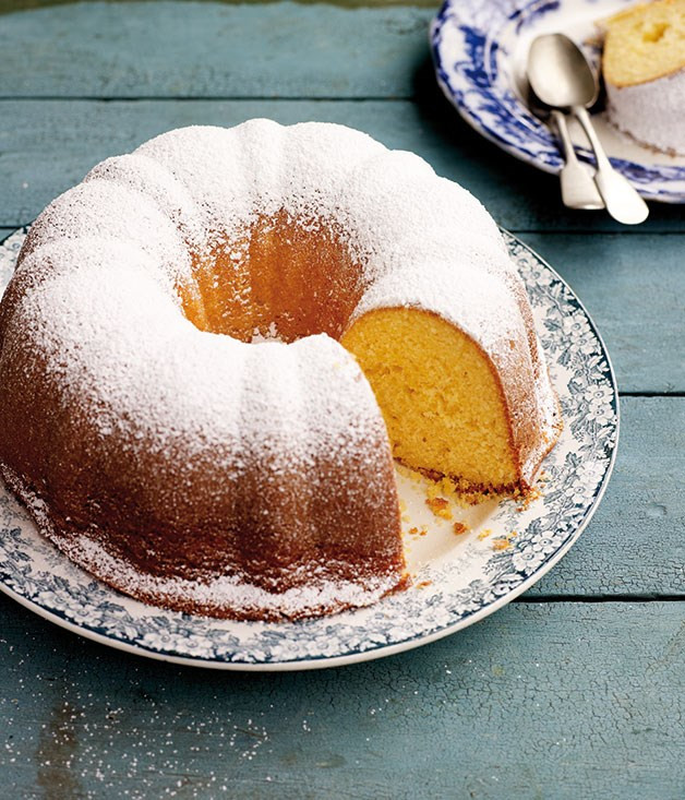 Yoghurt cake with Lemon !