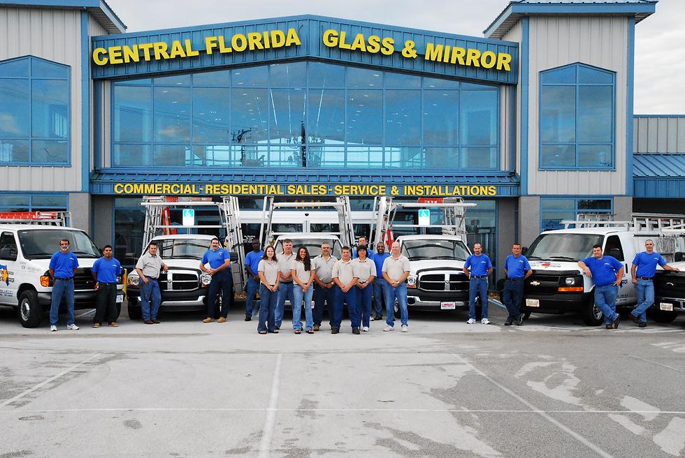 Central Florida Glass Building
