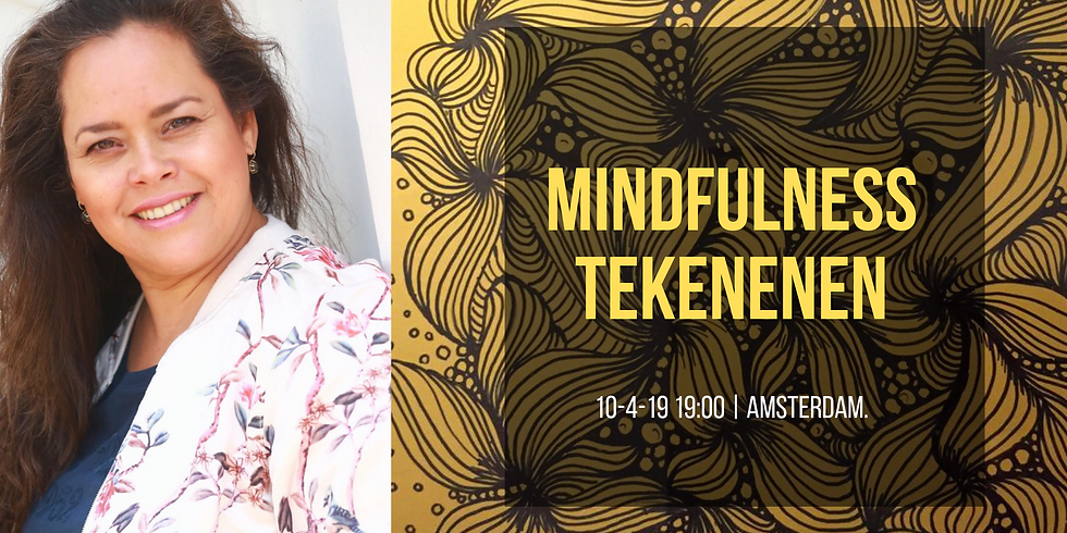 Mindfulness Tekenen Workshop 10 april