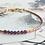 Thumbnail: Armband met Granaat