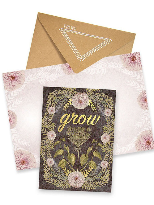 Greeting card Grow