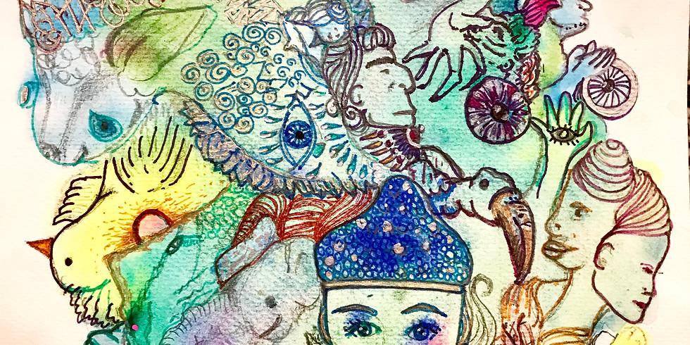 Intuïtief schilderen Workshop