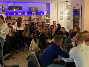 Labdarības pasākums no Norvēģu studentiem