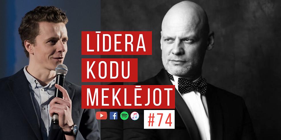 LKM74 Valdis Melderis par raidījumu vadīšanu un līderību