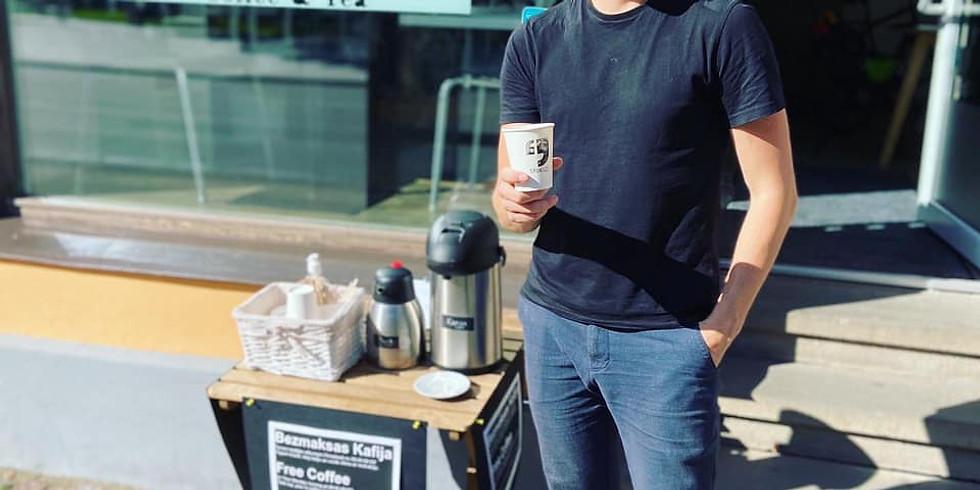 Free coffee: Pirmdienas motivācija