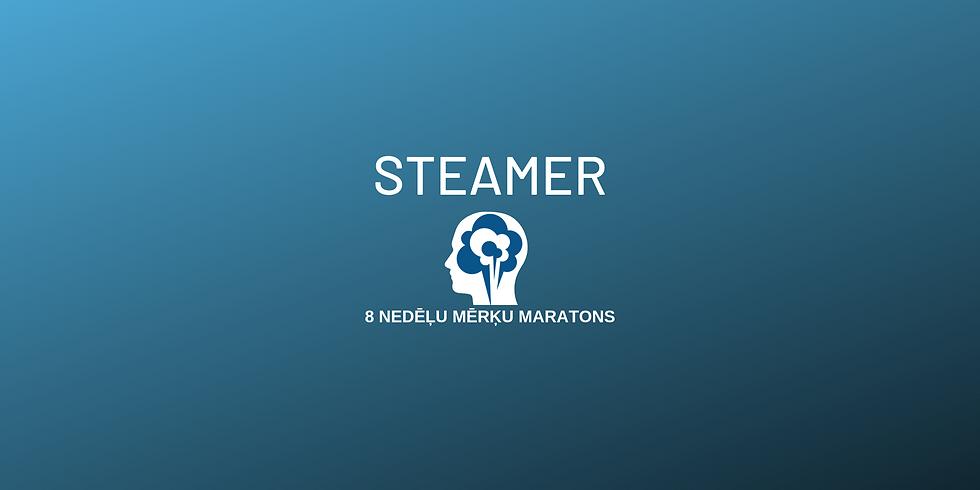 Steamer. 8 nedēļu mērķu maratons