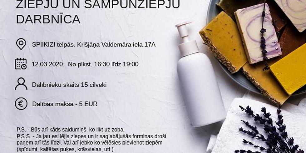 Maing impact: Ziepju un šampūnziepju darbnīca