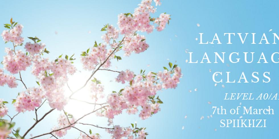 Latvian Language course: A0-A1 level