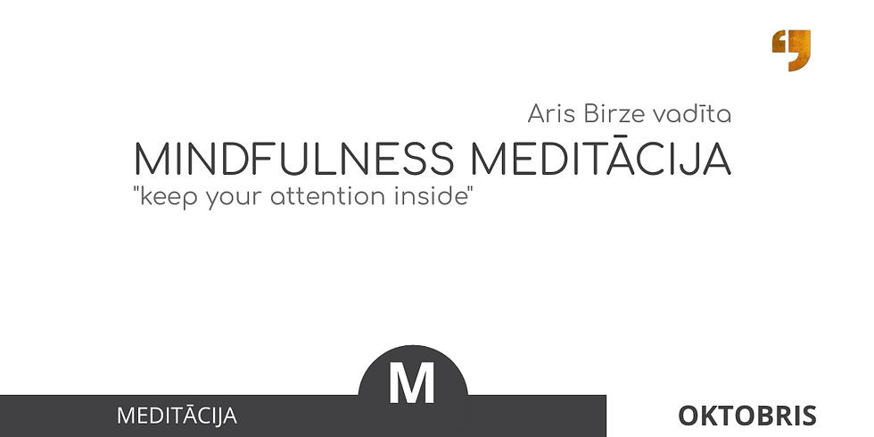 Mindfulness Meditācija SPIIKIIZI