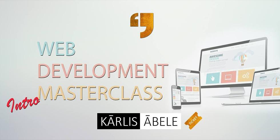 Web development Masterclass - Introduction