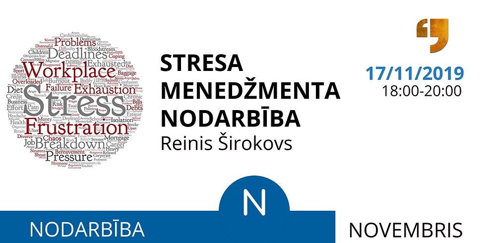Stresa Menedžmenta Nodarbība