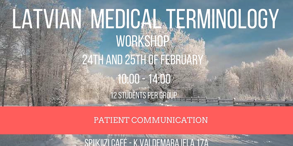Latvian medical terminology