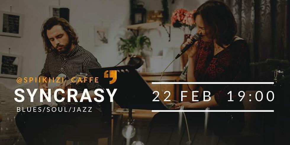Free mūzikas vakars: Syncrasy Duo