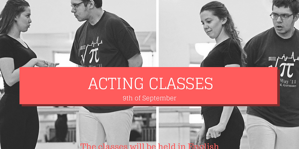 Acting class with Gunta Klimane