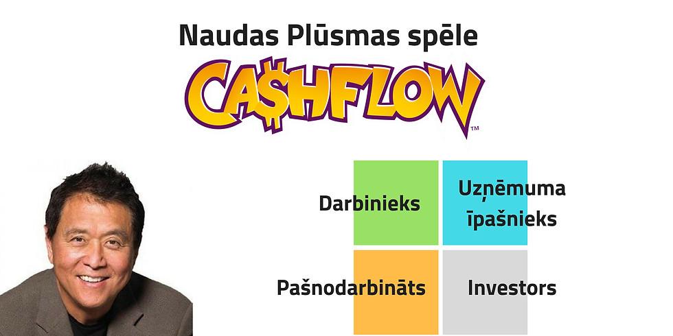 """Naudas Plūsmas spēle """"CashFlow"""""""