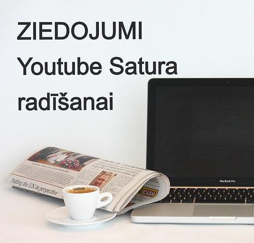 Ziedojumi SPIIKIIZI Youtube kanālam