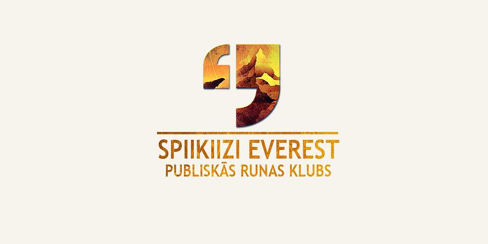 Publiskās runas klubs. SPIIKIIZI Everests