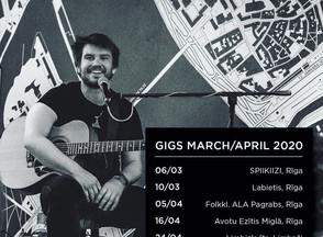 Instrumentālās mūzikas vakars 6.martā
