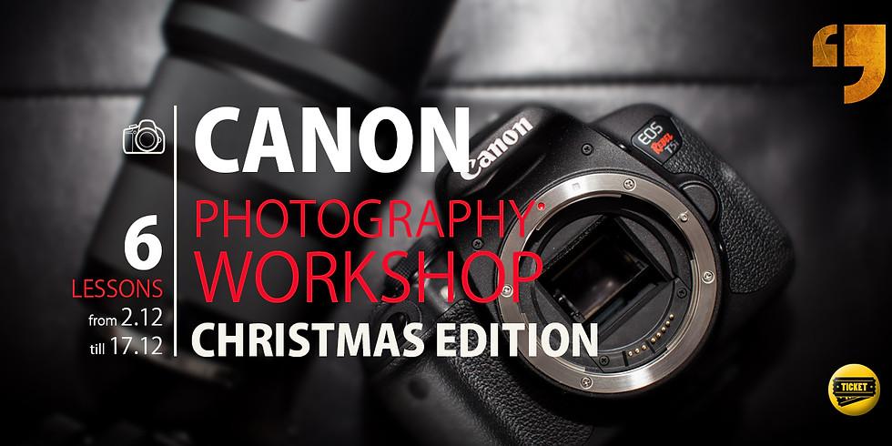 Photography courses. Christmas Edition