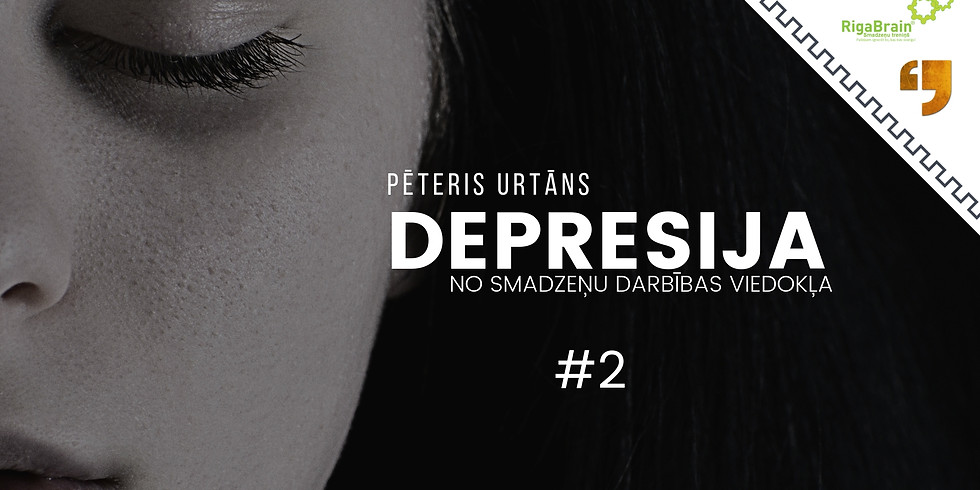 Maskas, meli, depresija. 2