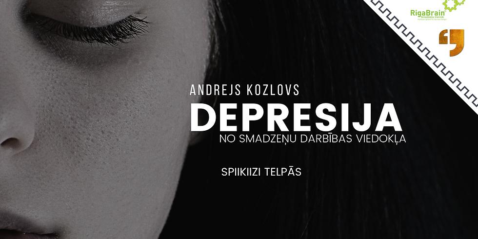 Maskas, meli, depresija