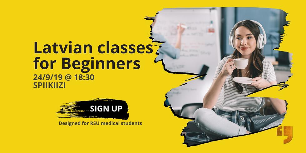 Latvian classes for Beginners (Rescheduled) (1)