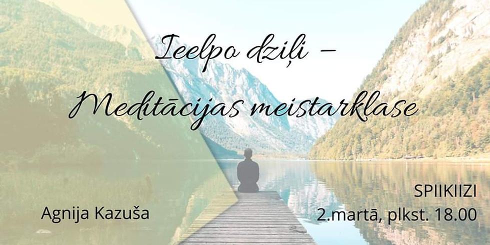 Free: Meditācijas meistarklase