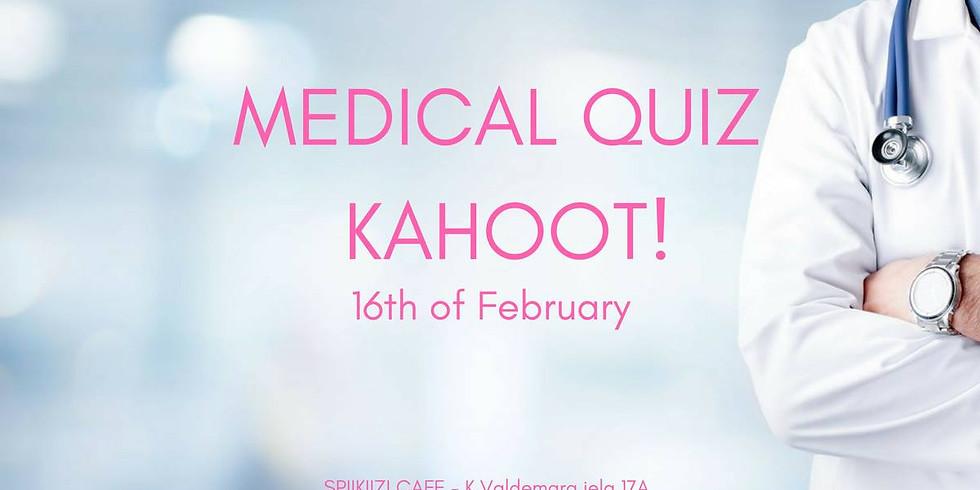 Medical quiz - Kahoot! edition