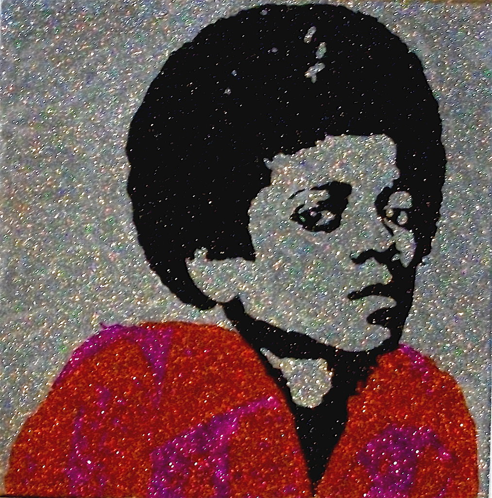 Glitter Pop Art Michael Jackson Art