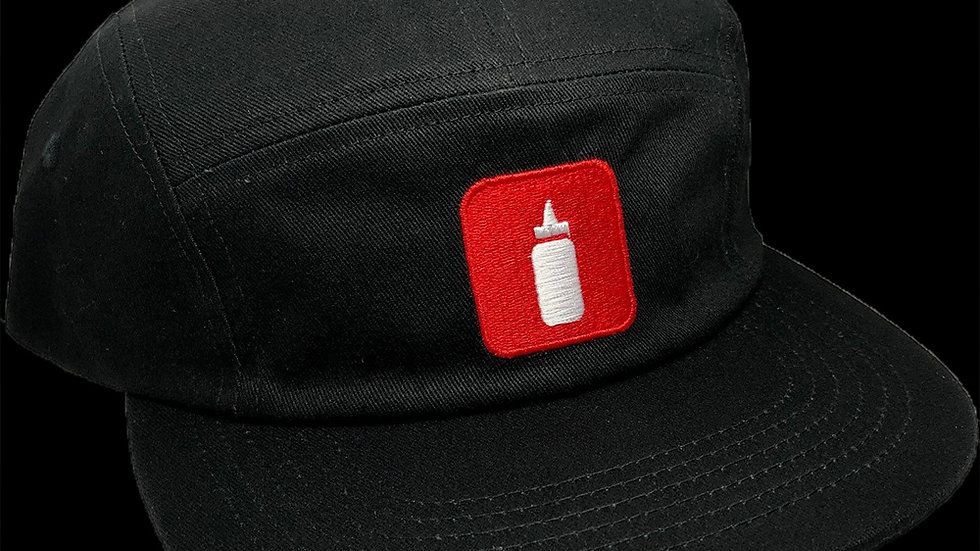 """Glue Bottle Cap"" BLACK"