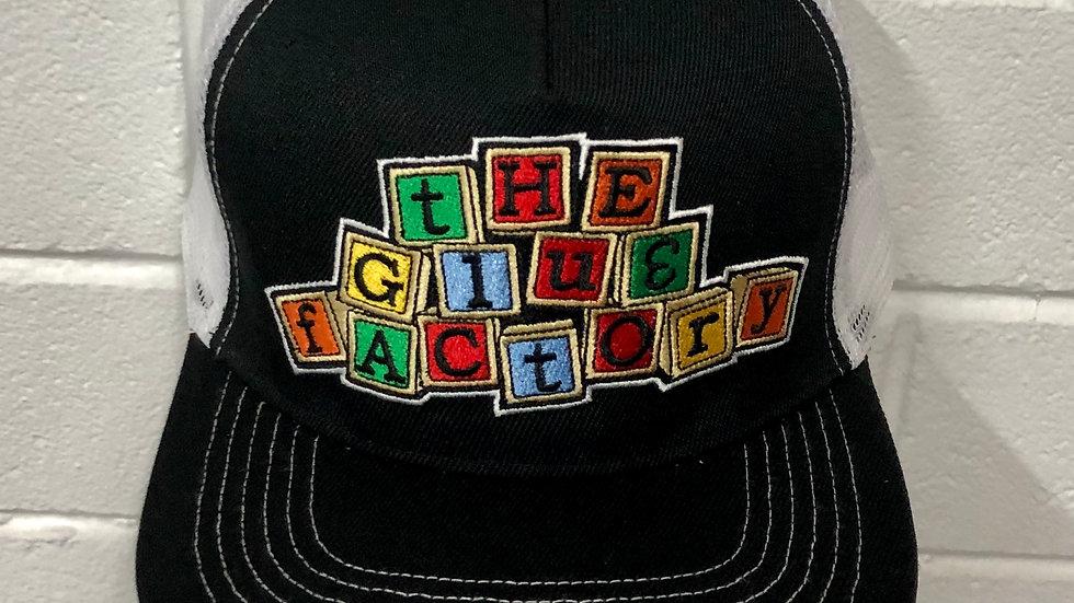 Block Logo Trucker Cap COLOUR
