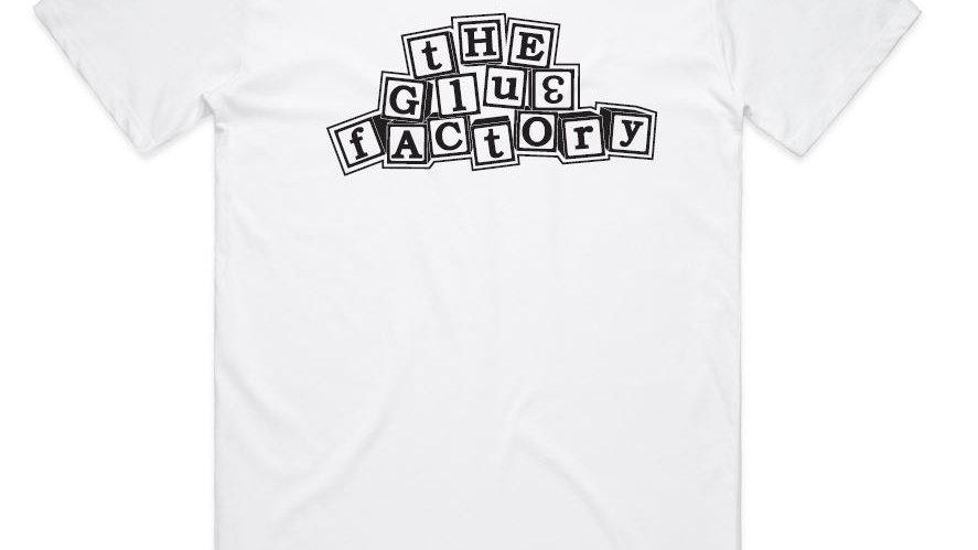 Block Logo T-Shirt White/Black