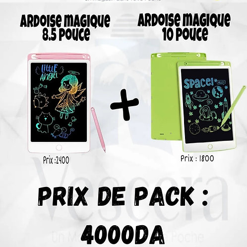 2 Ardoises Magiques 8,5/10 POUCE